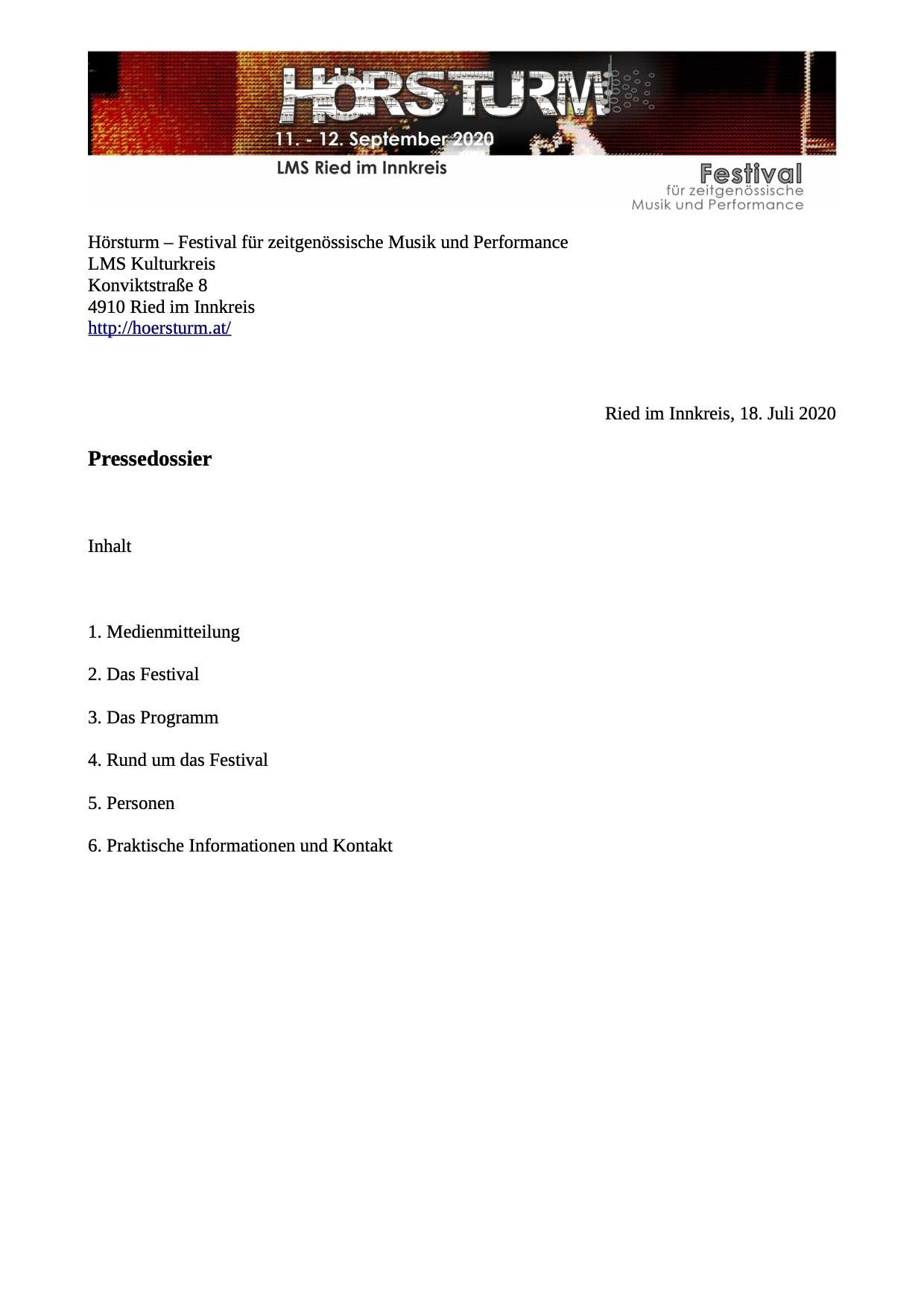 Pressedossier-2020